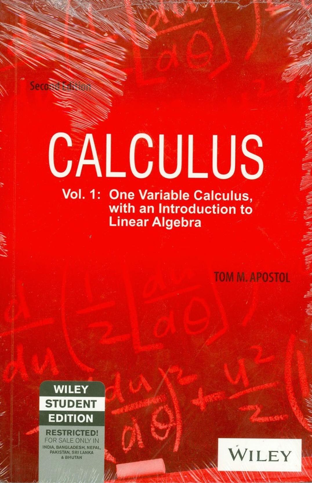 Calculus Volume I 2 Edition - Buy Calculus Volume I 2