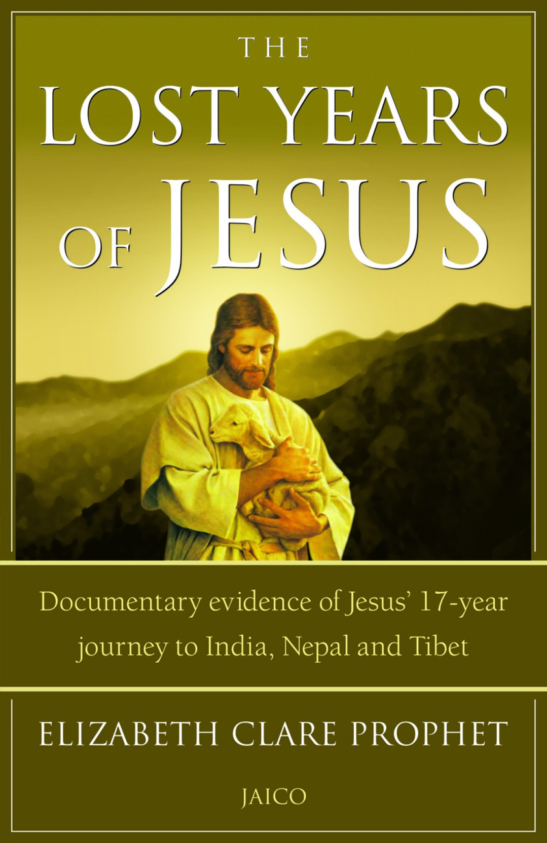 The Lost years of Jesus. ADD TO CART