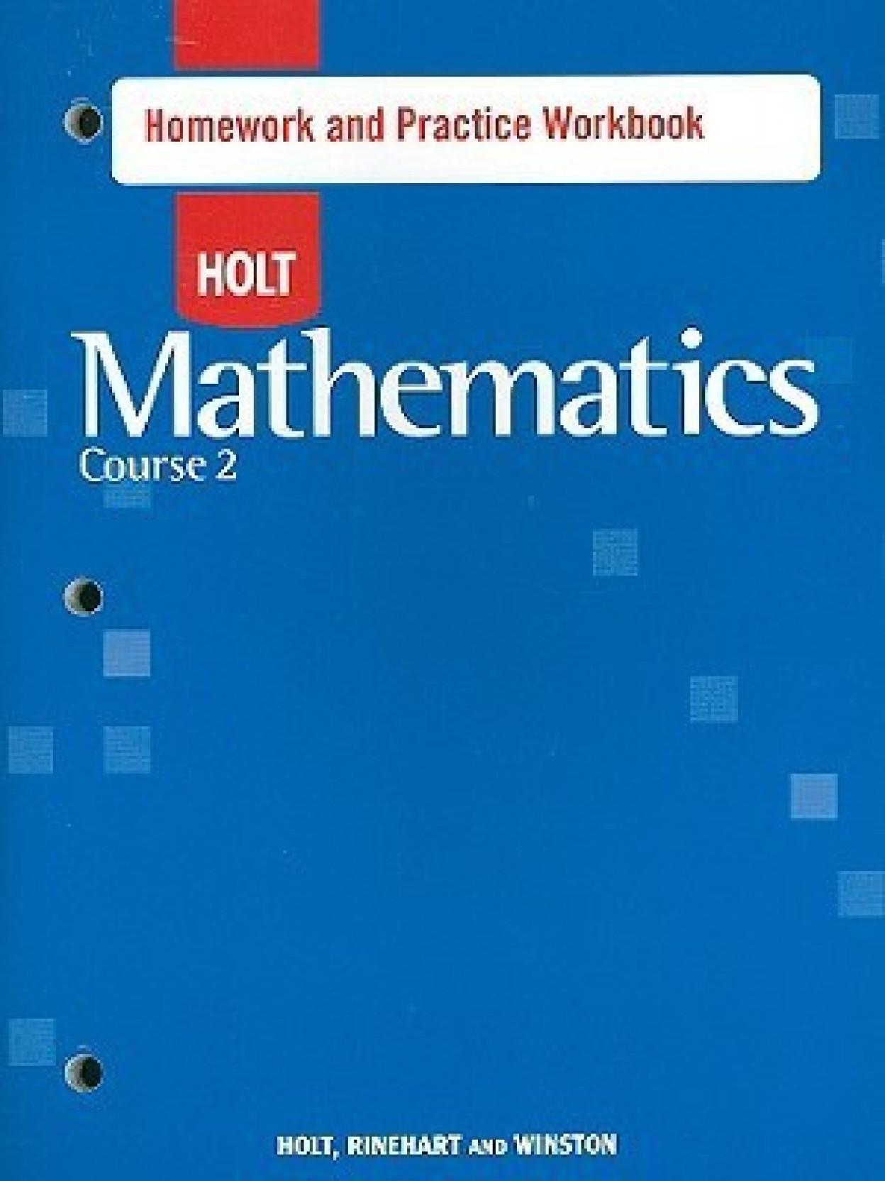 holt homework