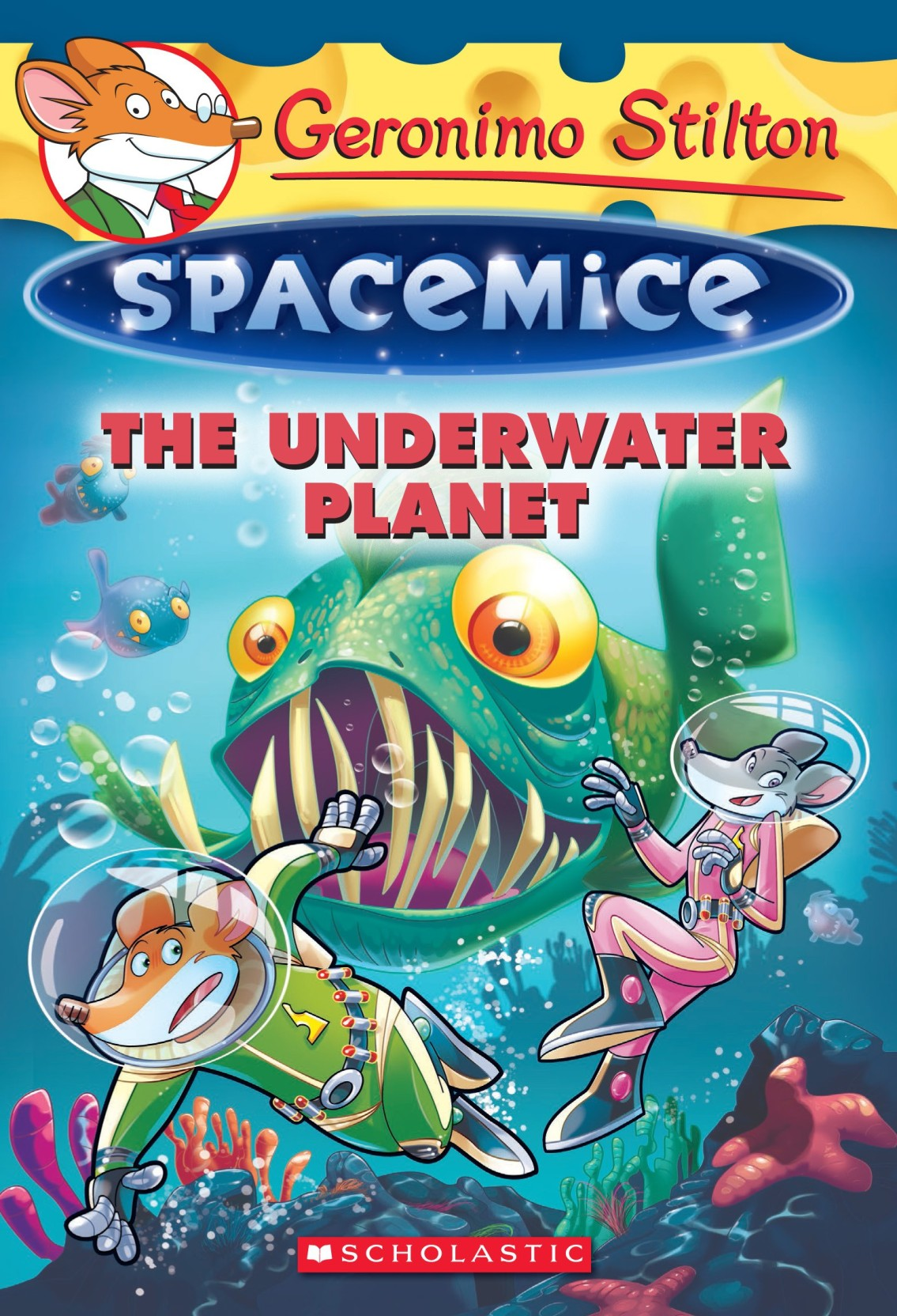 Geronimo Stilton Spacemice the Underwater Planet. ADD TO CART