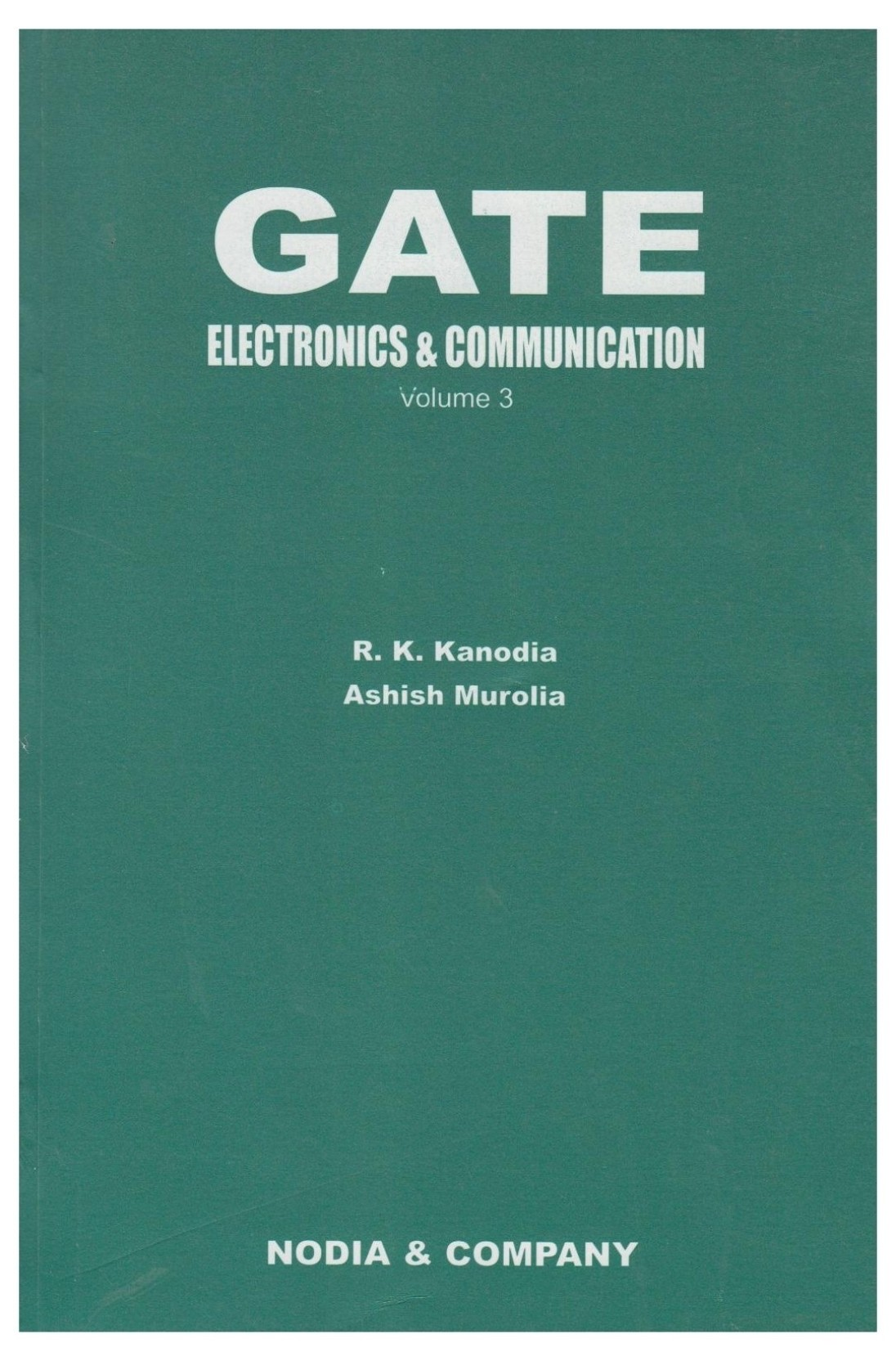 Gate Electronics Communication Volume 3 7th Edition Buy Complete Guide To Basic Share