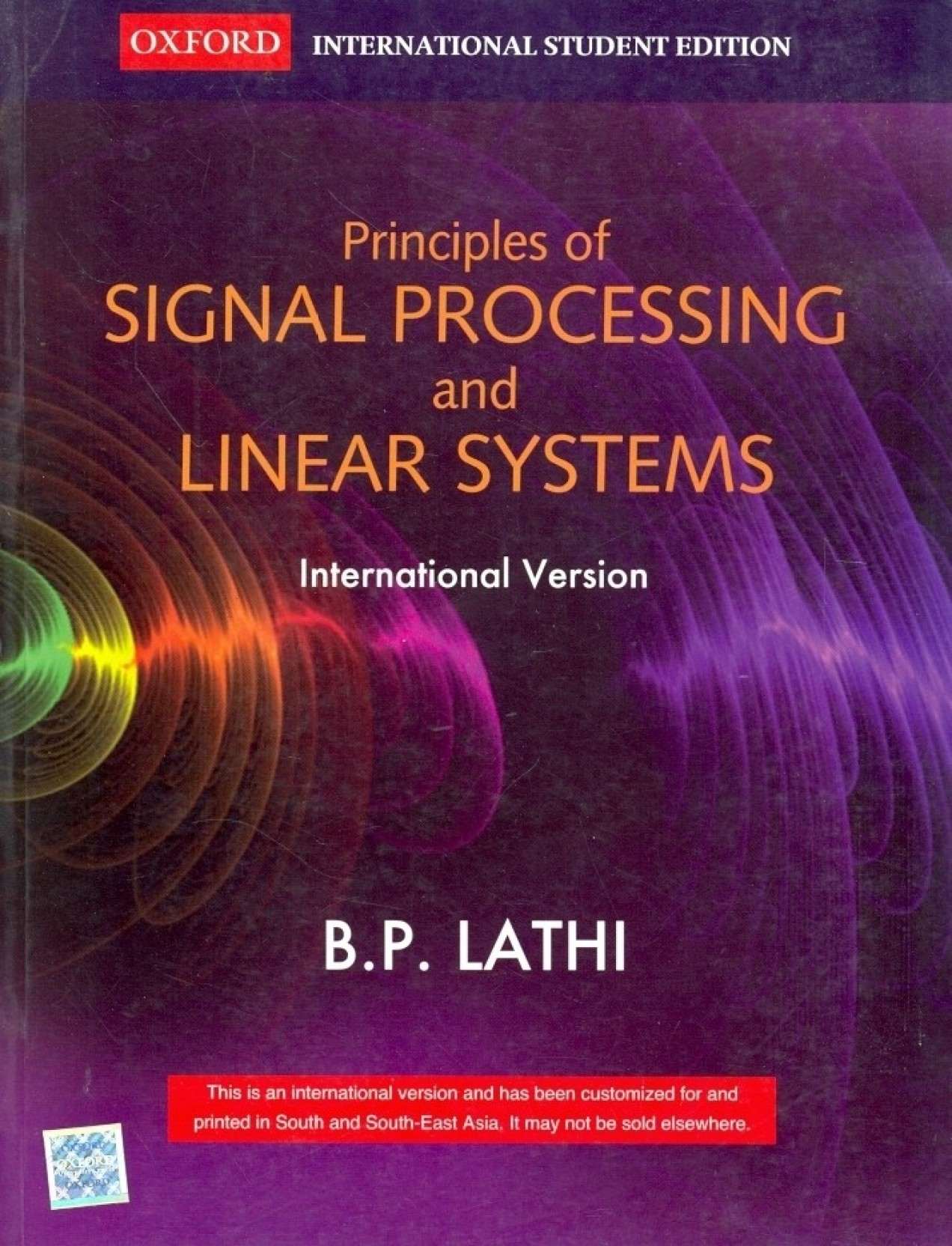 Principles Of Signal Processing And Linear Systems. ADD TO CART