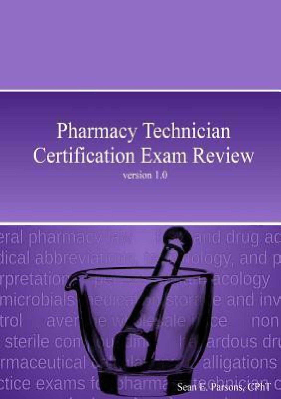 Pharmacy Technician Certification Exam Review Buy Pharmacy
