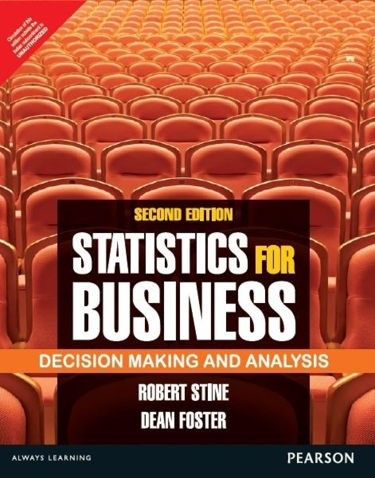 Statistics for Business: Decision Making and Analysis, 2nd Edition