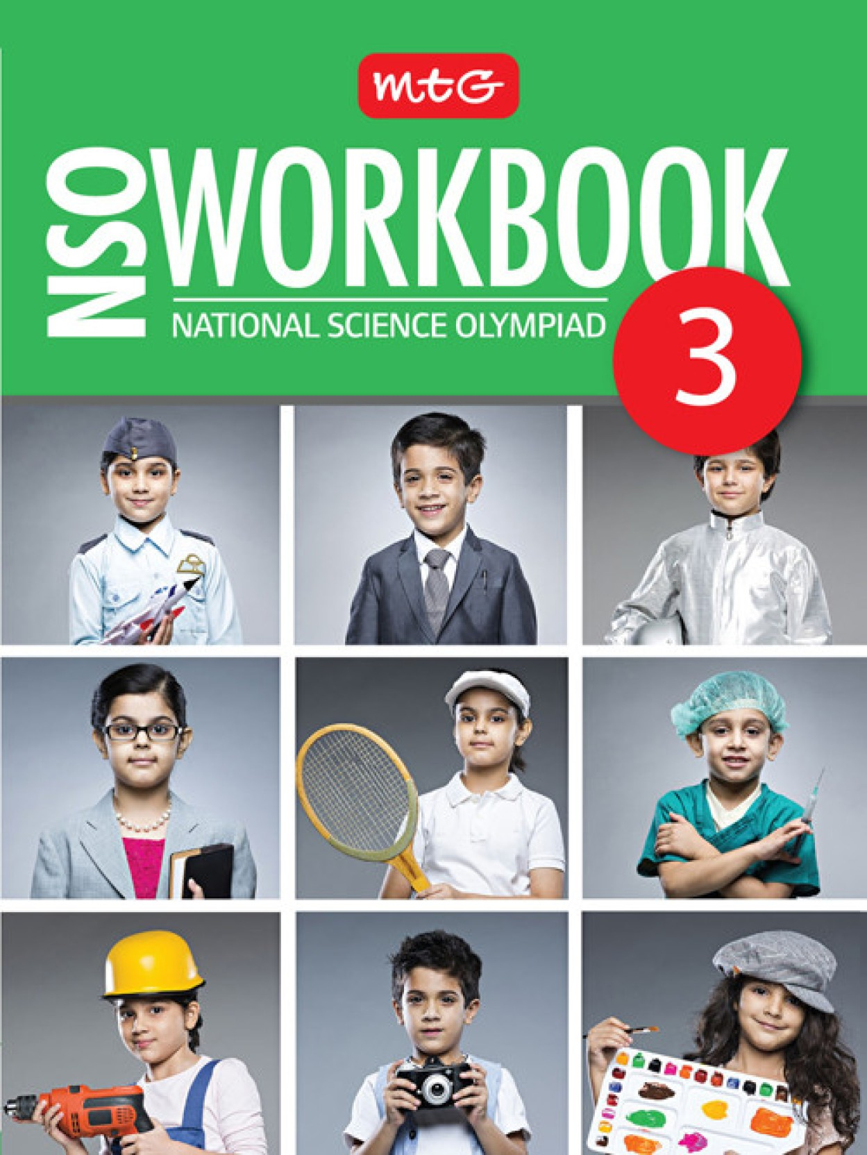 National Science Olympiad Work Book - Class 3