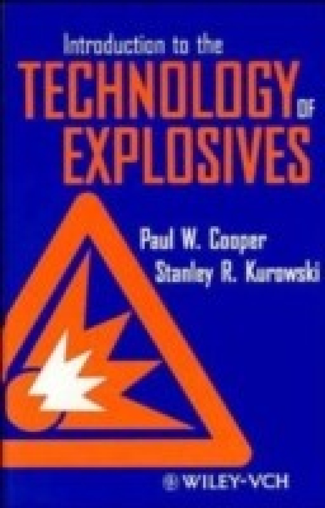 Introduction to the Technology of Explosives. Home