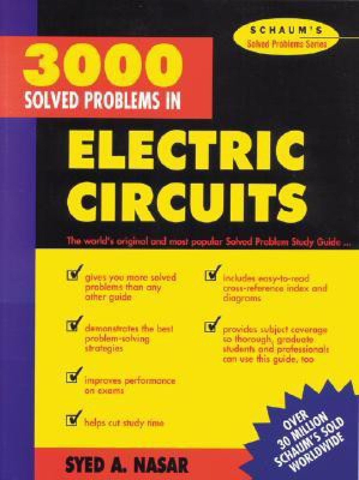 3000 Solved Problems In Electric Circuits 1st Edition Buy Smart Chocolate Block Schematic Diagram Electronic Add To Cart