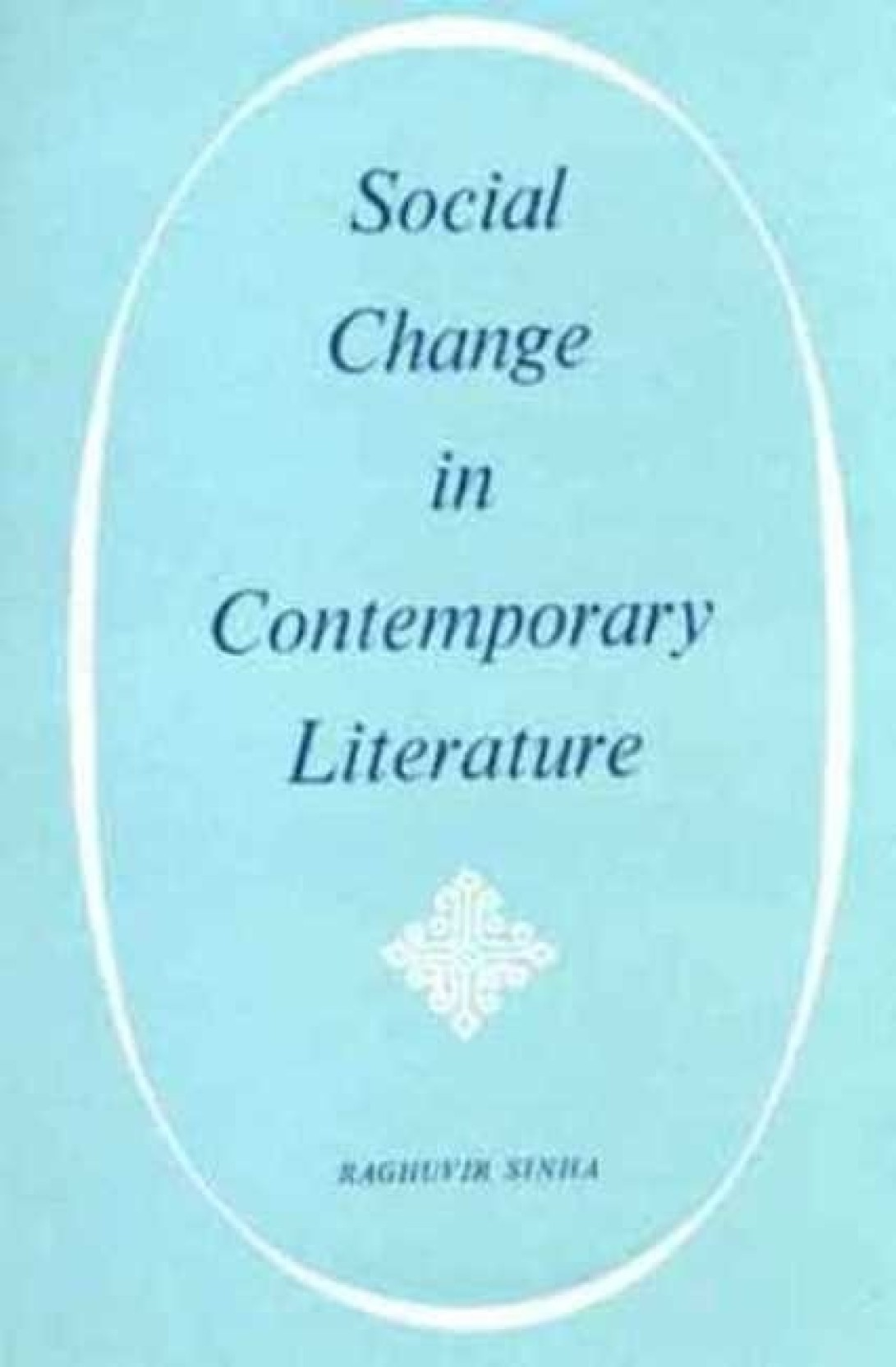literature and social change