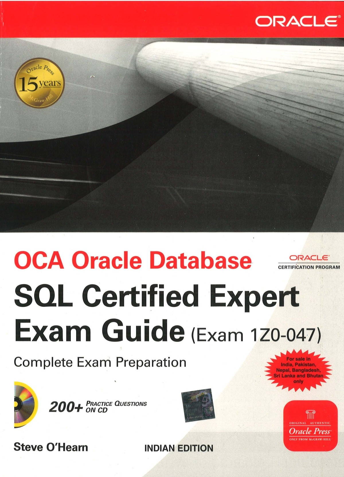 Oca Oracle Database Sql Certified Expert Exam Guide 1st Edition ...