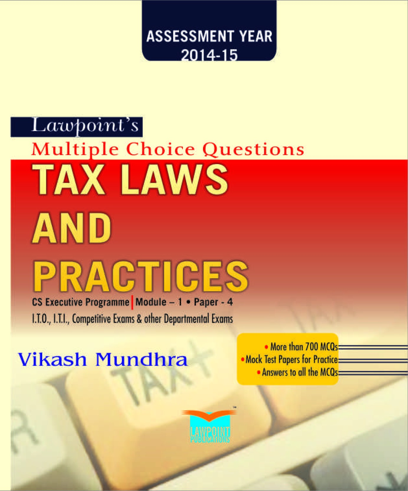Lawpoint's Multiple Choice Questions on Tax Laws and Practice: Buy