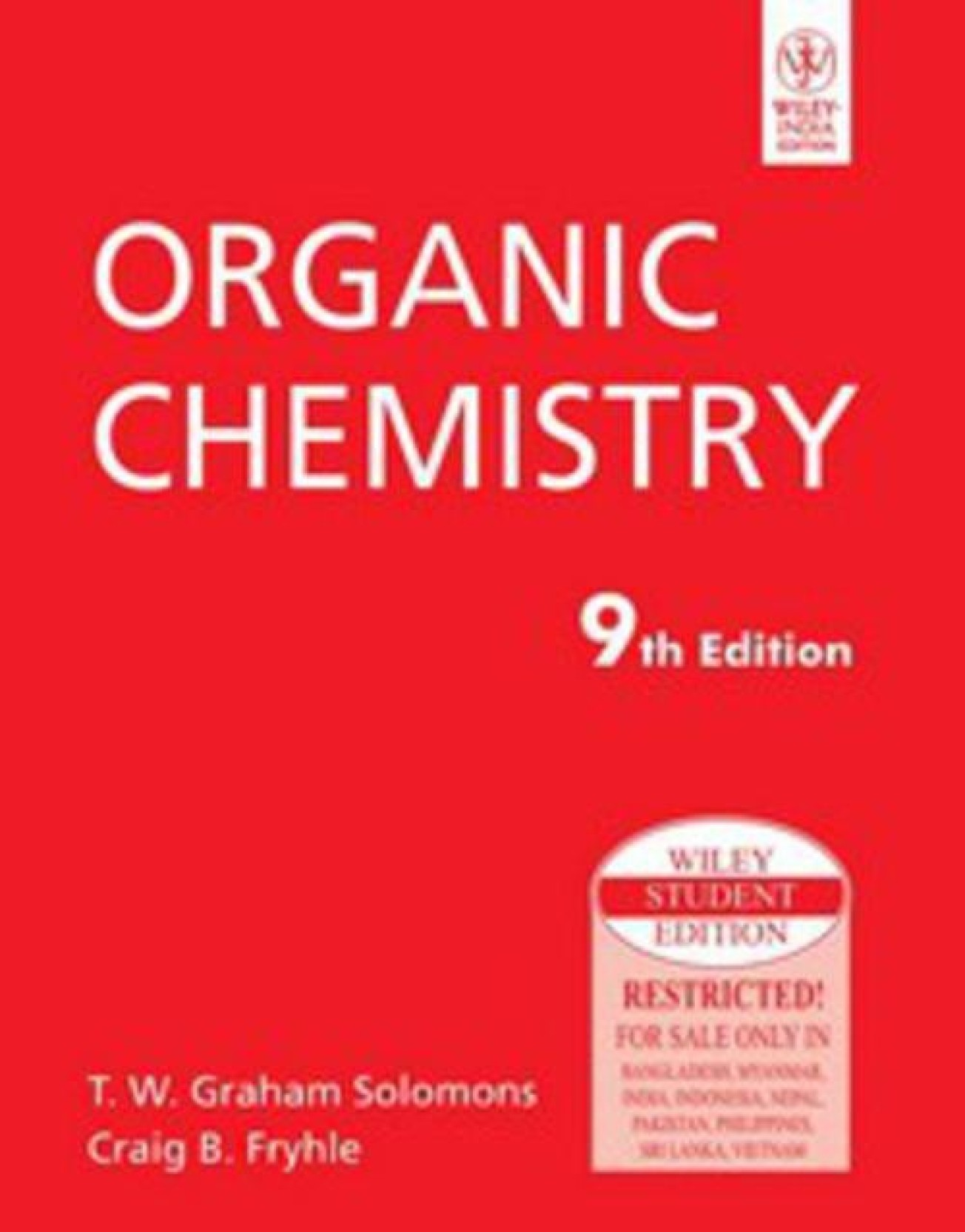 Organic Chemistry 9 Edition. Home