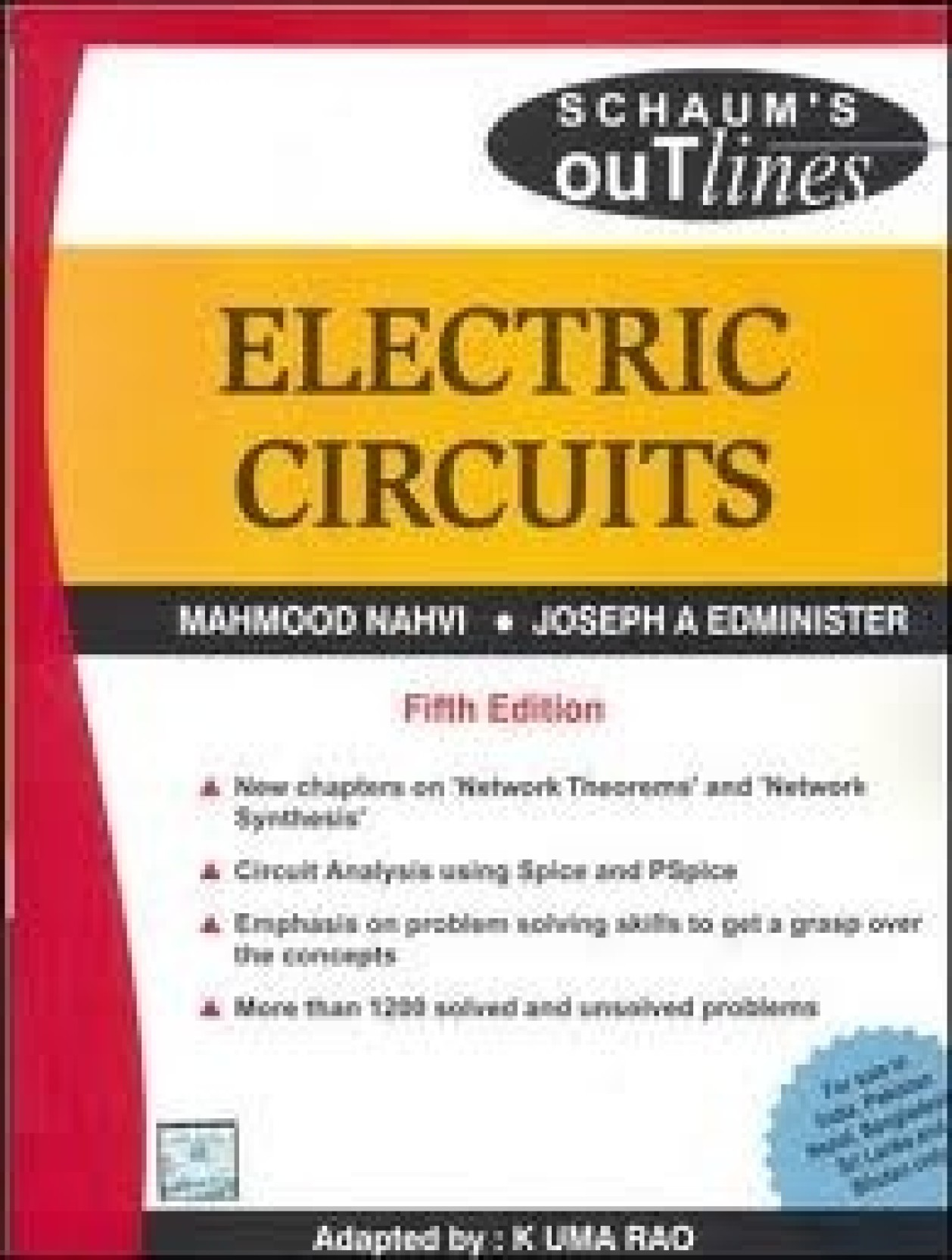 Electric Circuits 5th Edition Buy By Electronic Devices And Schaums Pdf Add To Cart