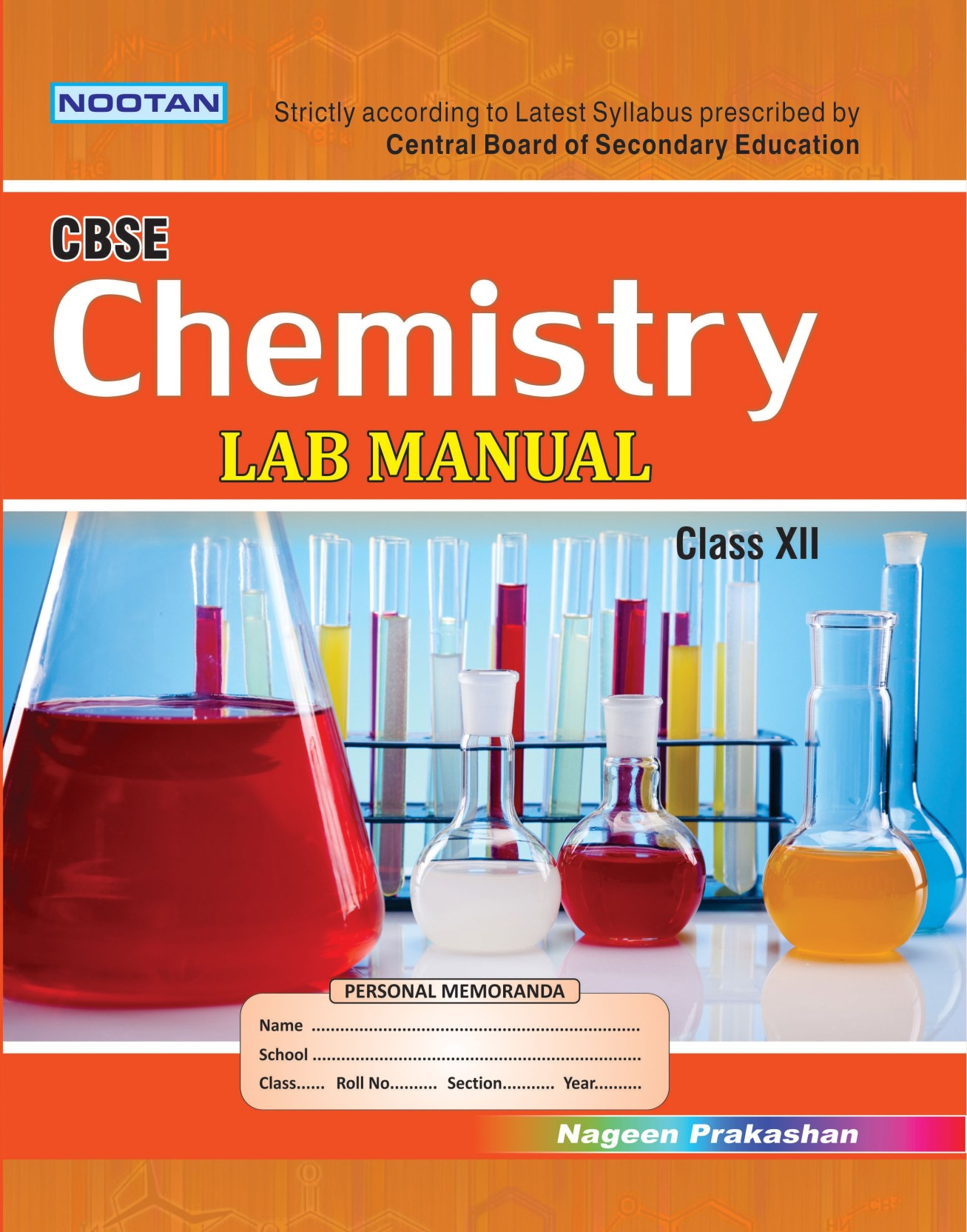 Cbse Chemistry Lab Manual Xii. Share