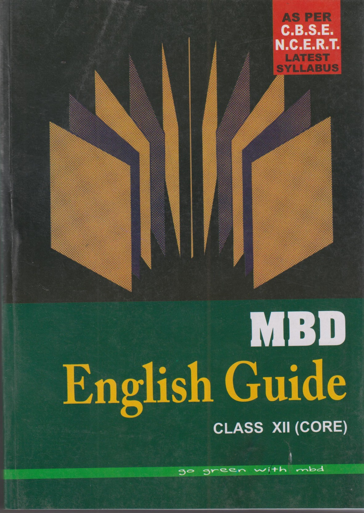 MBD English Guide( Core ) Class-12. Share