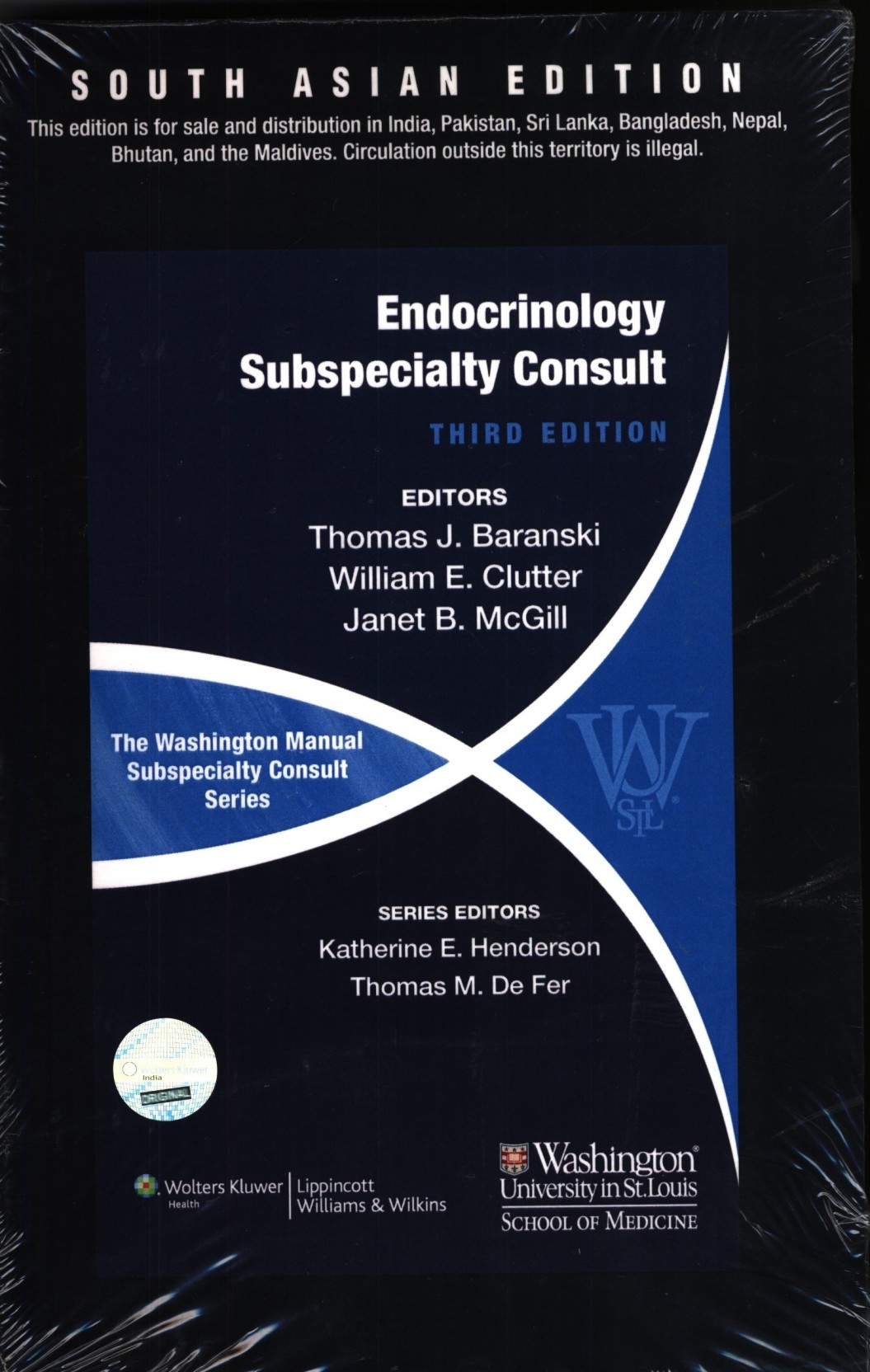 Washington Manual Endocrinology Subspecialty Consult 3/e. ADD TO CART