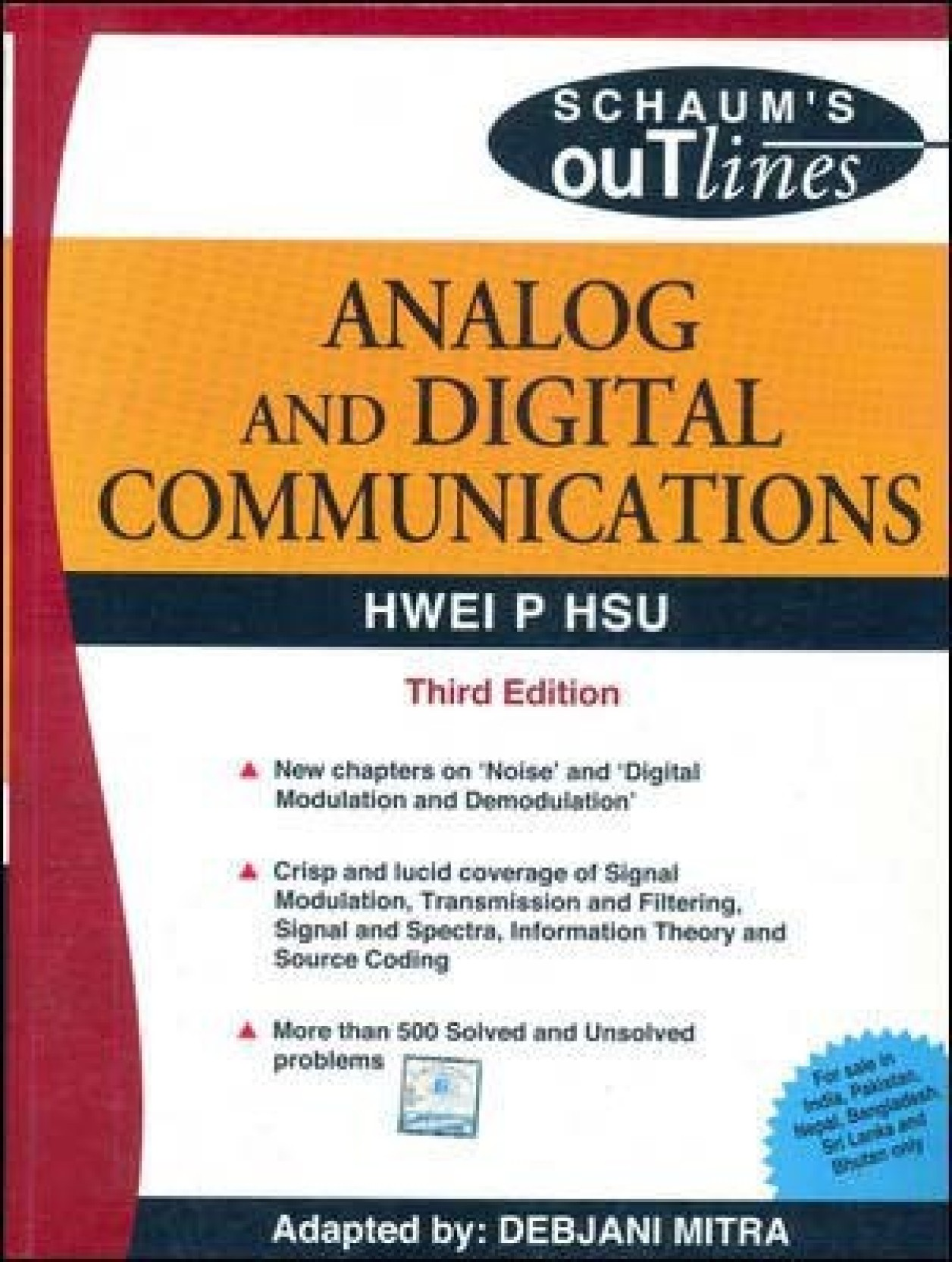 Analog And Digital Communications 3rd Edition Buy Electronic Circuits Schaum Series Pdf Add To Cart