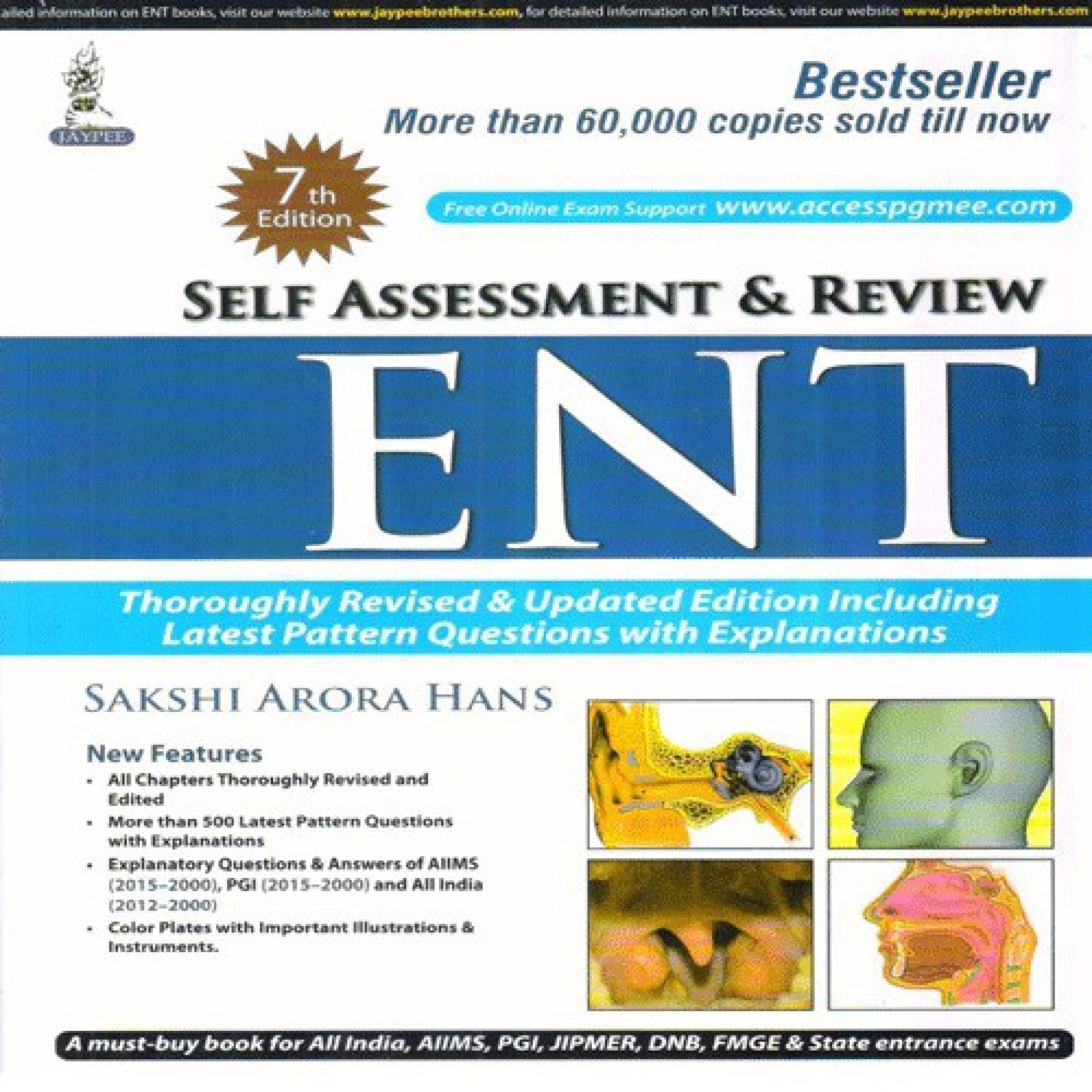 Self Assessment and Review ENT: Buy Self Assessment and