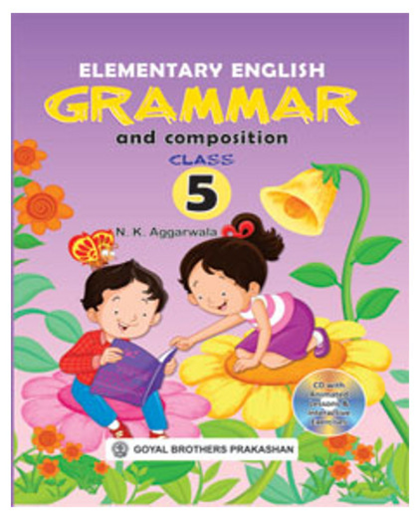 Elementary English Grammar and Composition Class 5 (With CD). Share