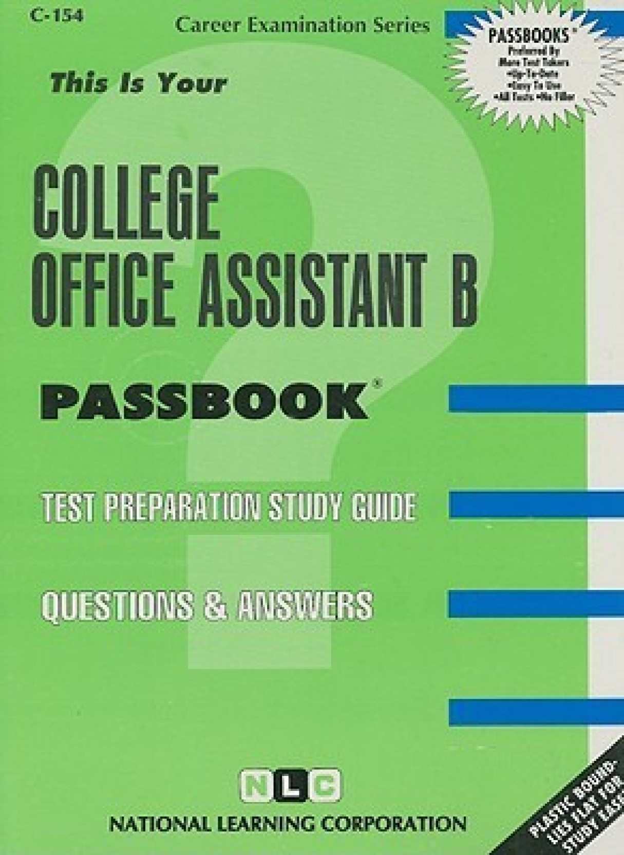College Office Assistant B (Career Examination Passbooks). Share