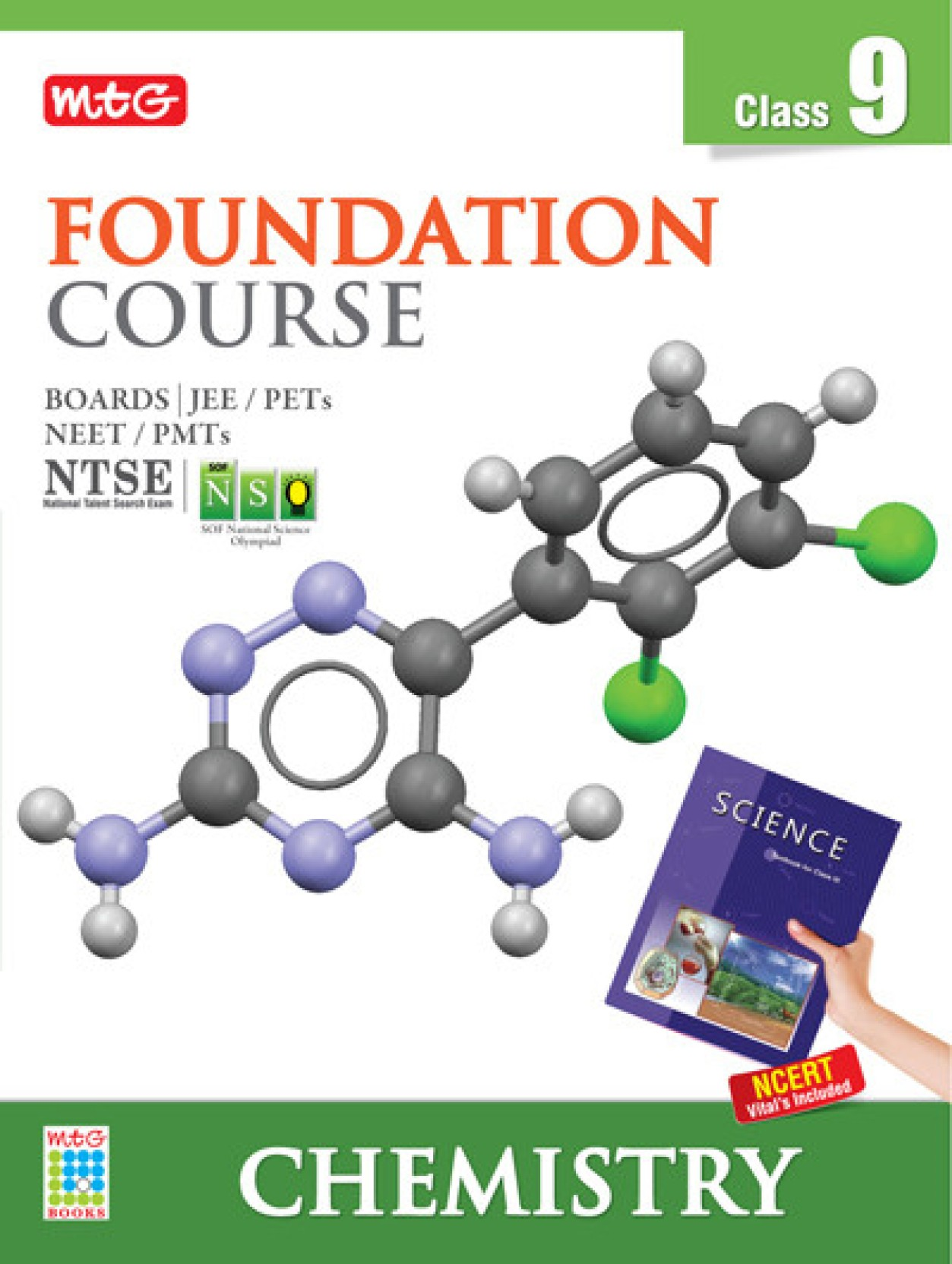 MTG Foundation Course for Class 9 - Chemistry