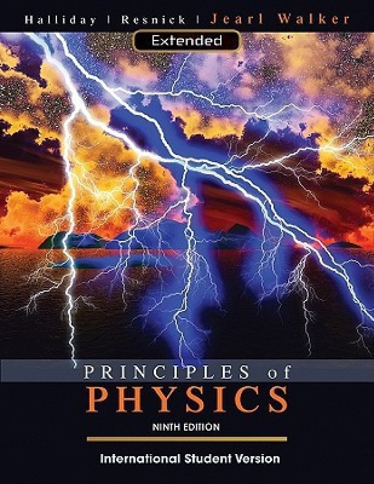 principles of physics 10th edition international student version solution manual
