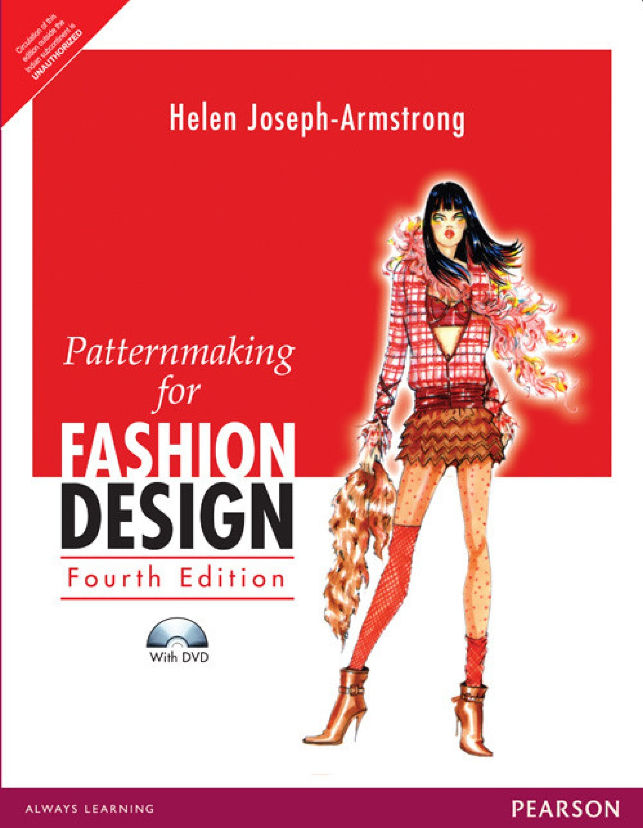 Patternmaking For Fashion Design And Dvd Package With