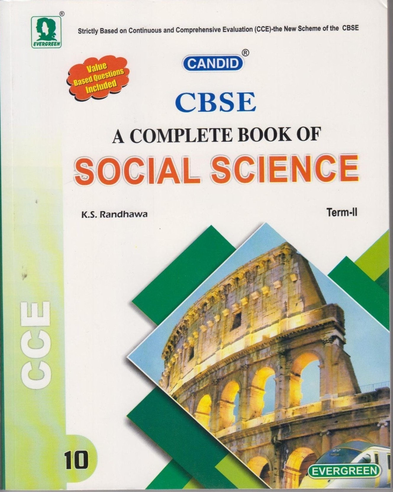 CANDID CBSE A Complete Book of Social Science for Class 10 (Term II) 01.  Share