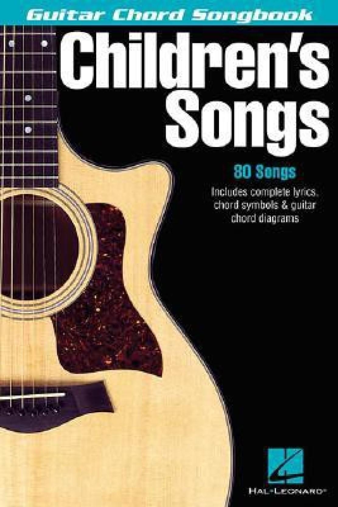 Childrens Songs Guitar Chord Songbook Buy Childrens Songs