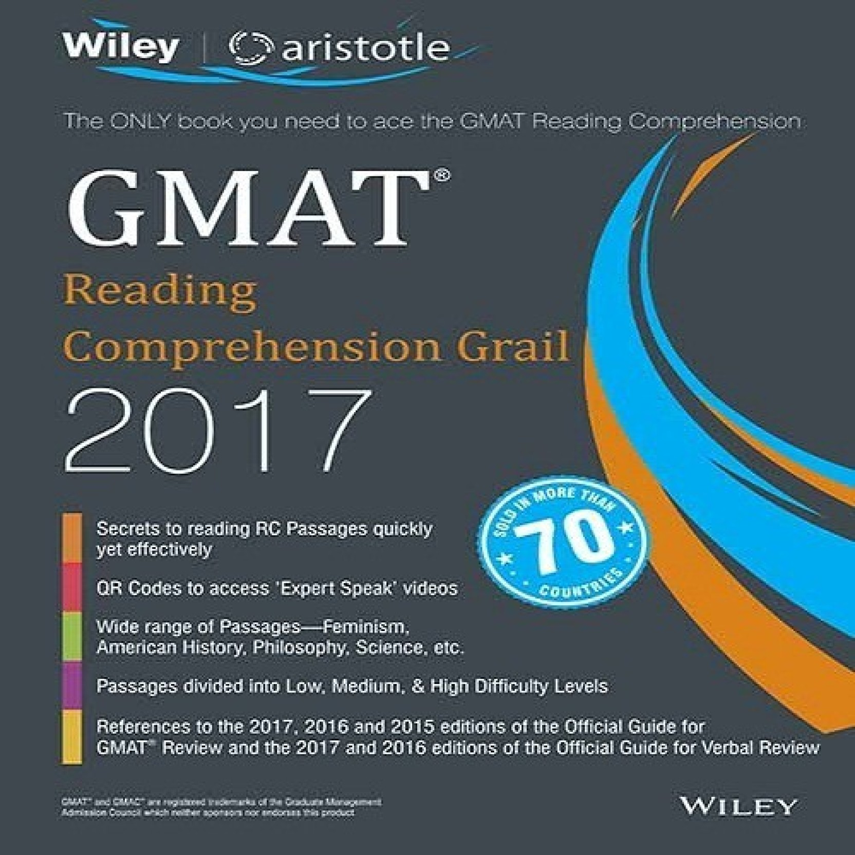 Wiley's GMAT Reading Comprehension Grail 2017 Ist Edition: Buy