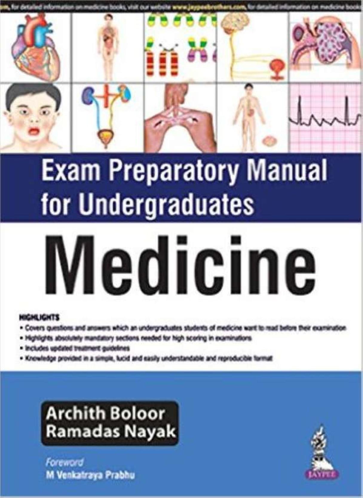 Exam Preparatory Manual Medicine. ADD TO CART
