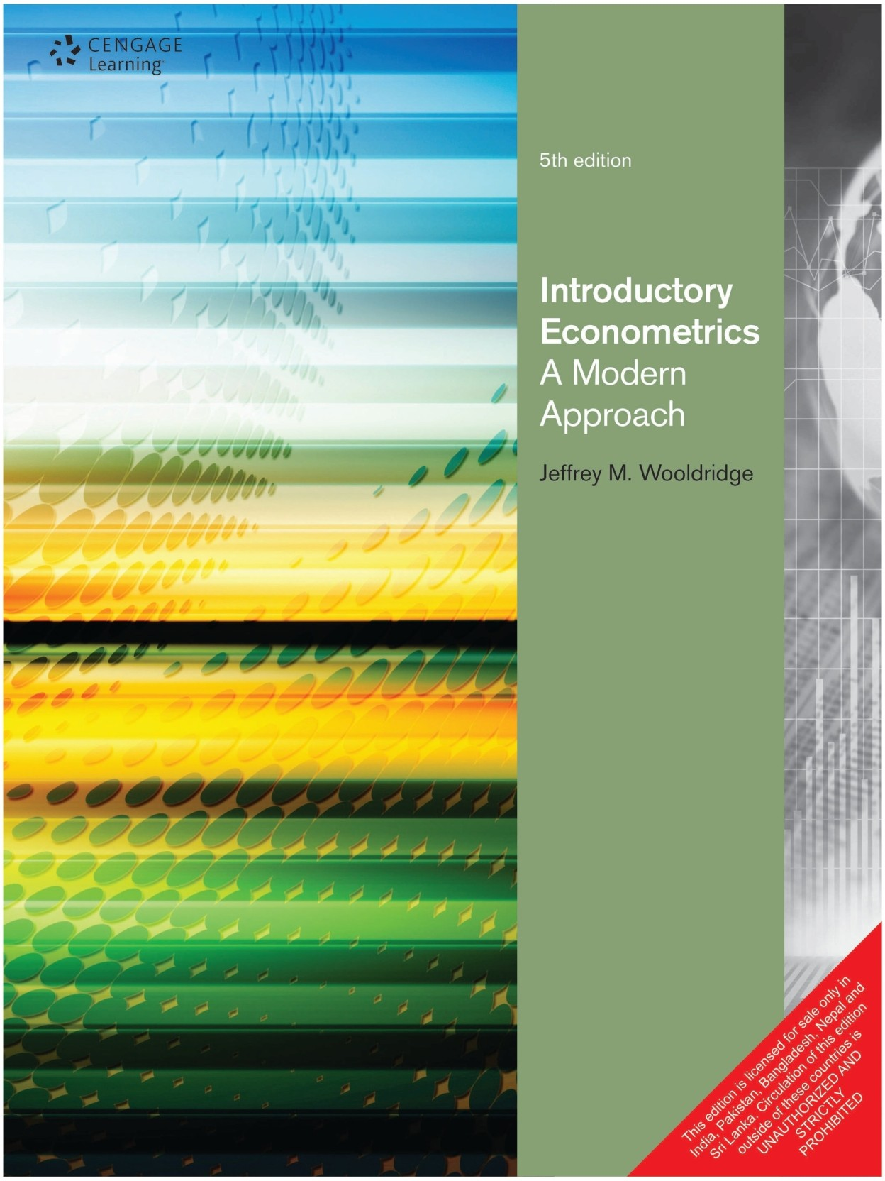 Introductory Econometrics - A Modern Approach 5th Edition. ADD TO CART