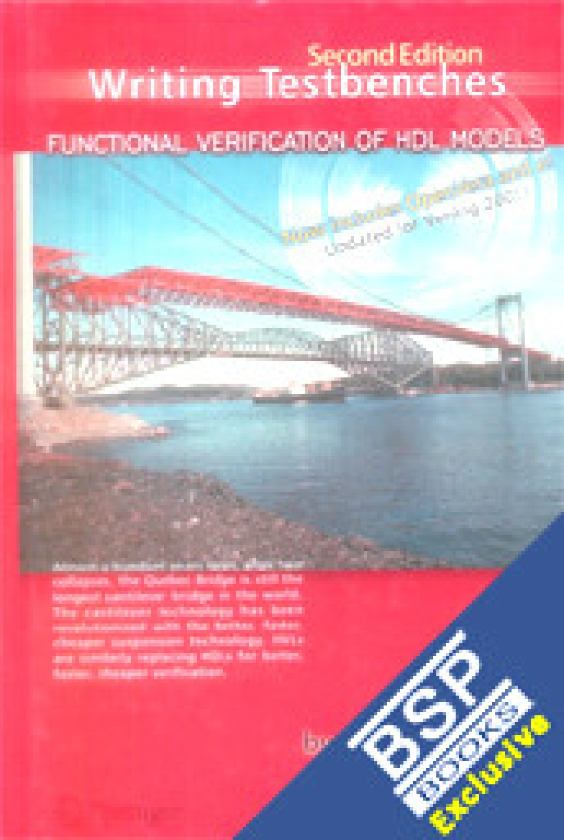 WRITING TESTBENCHES: FUNCTIONAL VERIFICATION OF HDL MODELS, 2ND EDITION 02  Edition. Share