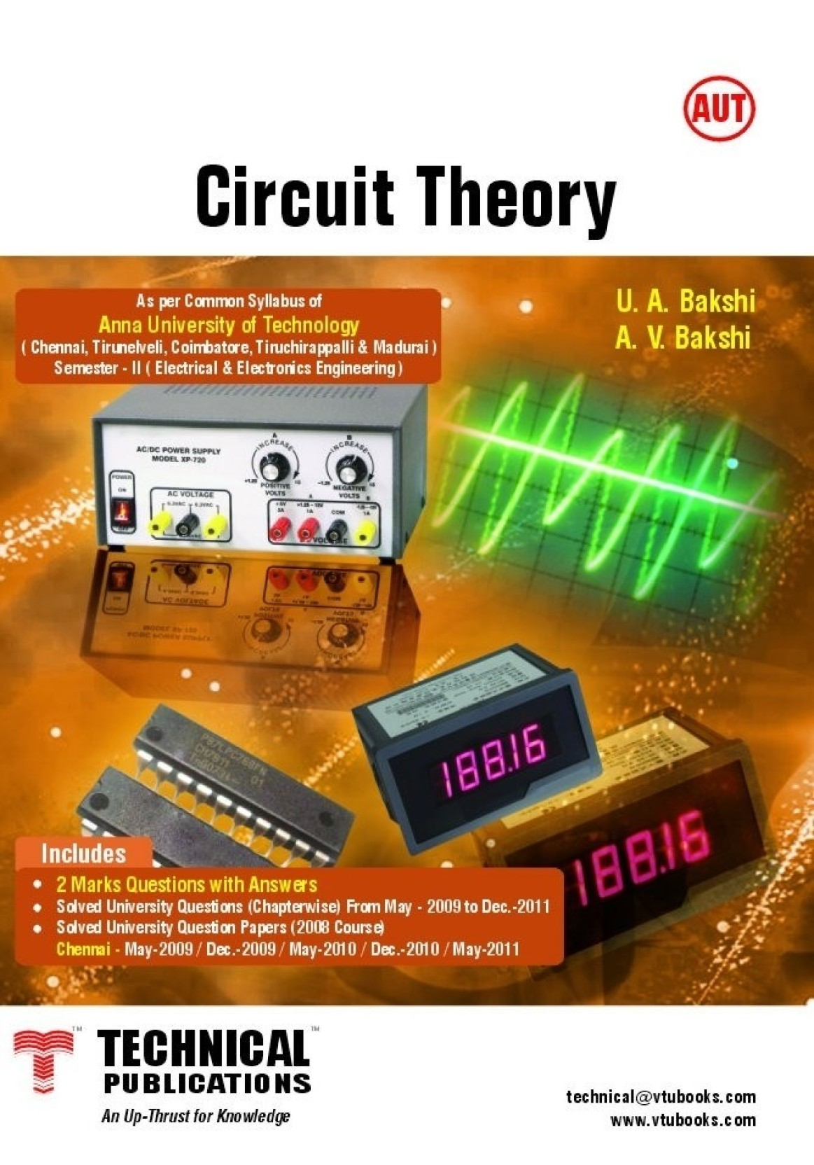 Circuit Theory For Anna University Of Technology 2nd Edition Buy Electronic Design Questions Share