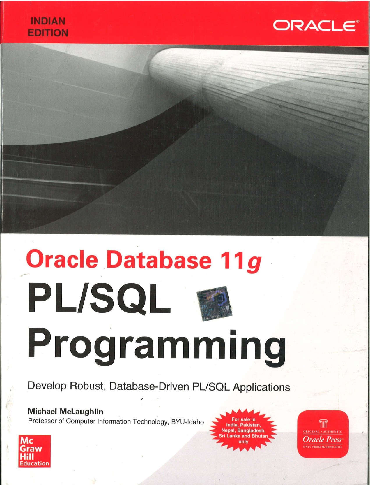 Oracle Database 11G Pl/Sql Programming Indian Edition. Home