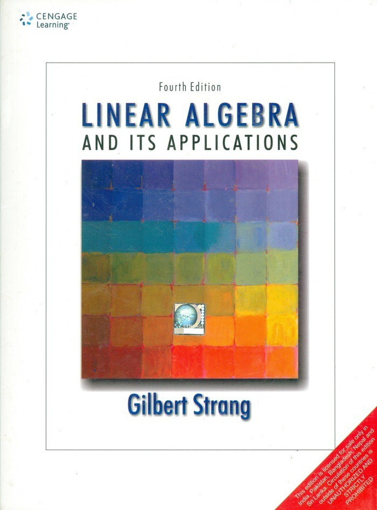Linear Algebra and its Applications 4 Edition. ADD TO CART