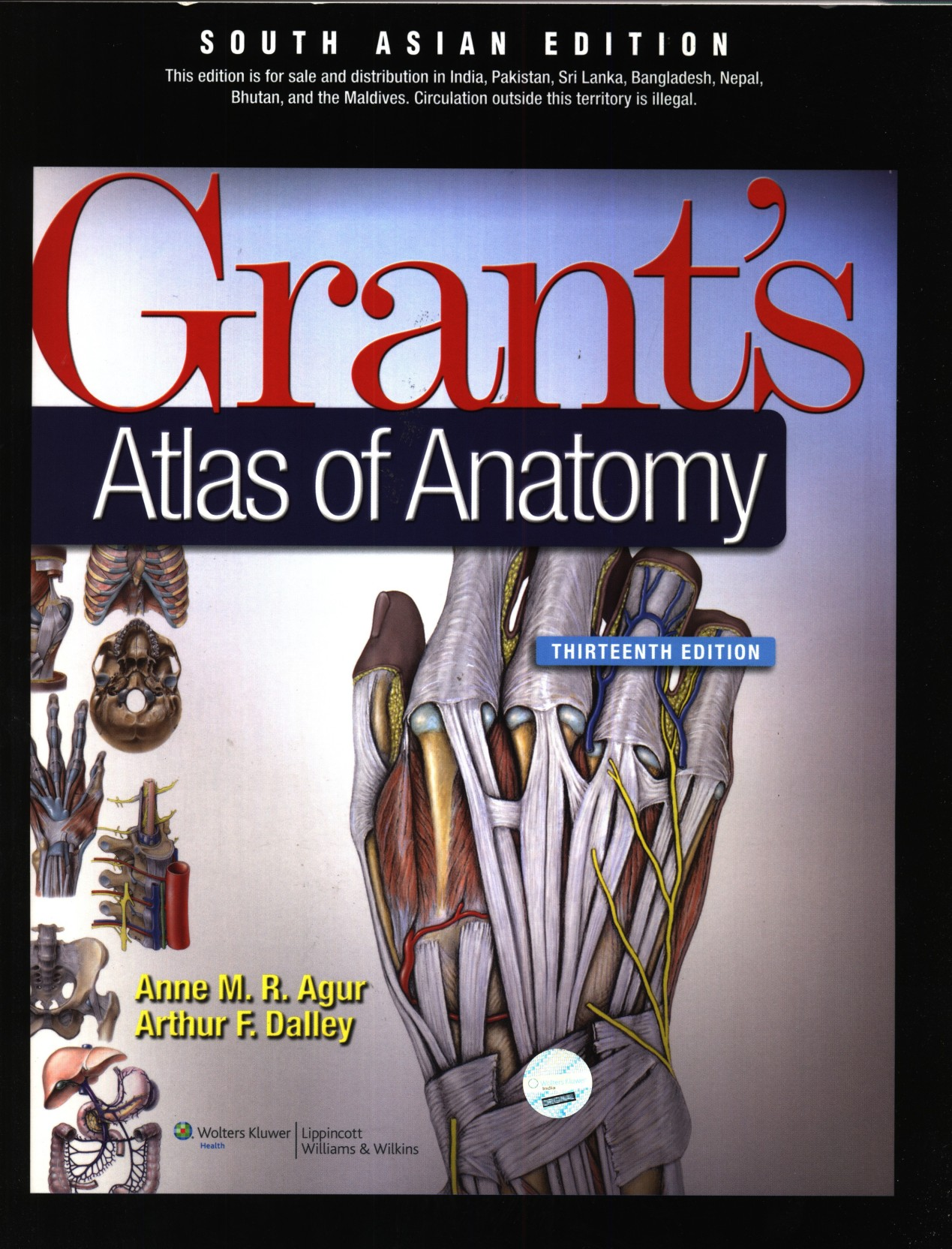 Grants Atlas of Anatomy (With the Point Access Scratch Code) 13th ...