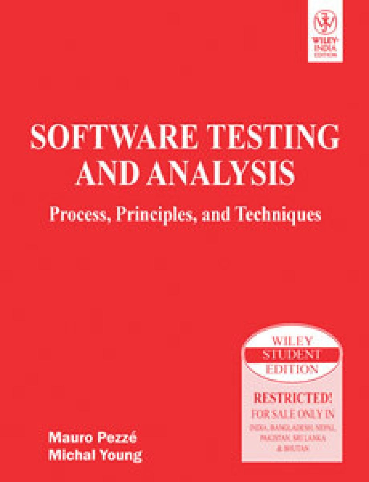 Testing pezze analysis pdf and mauro software