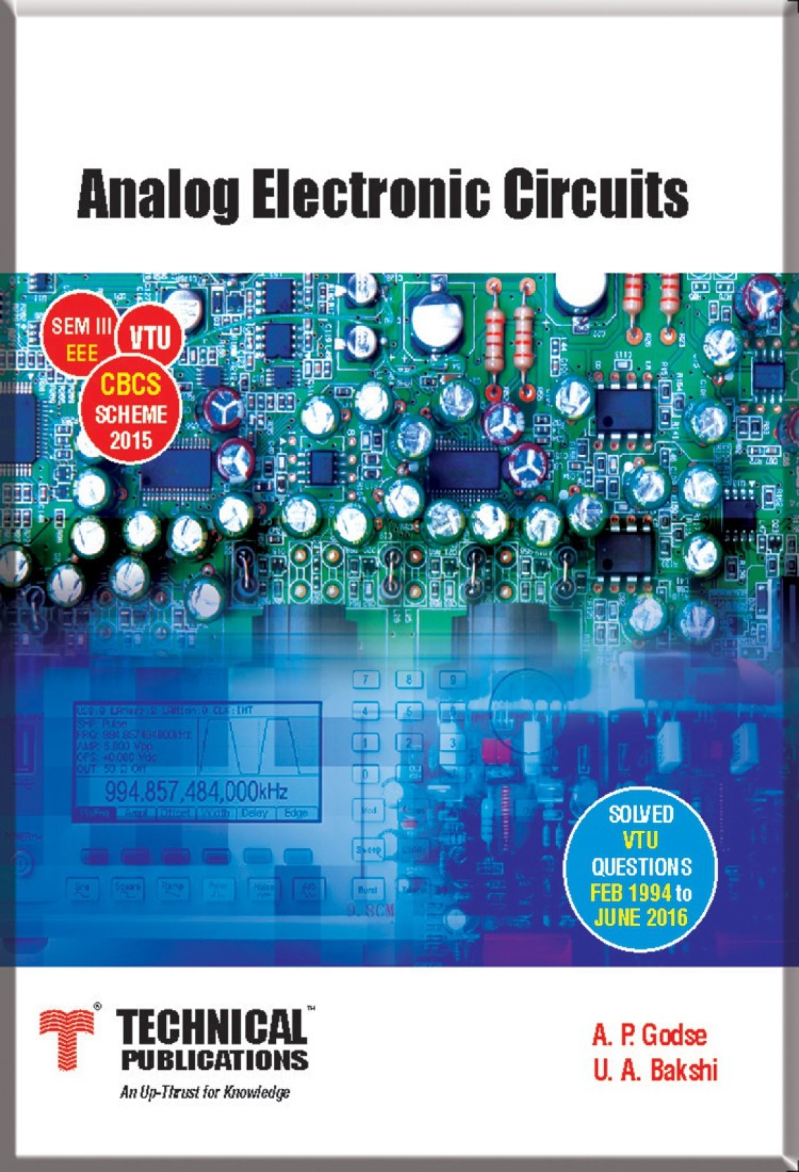 Analog Electronic Circuits For Vtu Sem Iii Eee Cbcs Scheme 2015 Textbook Pdf Share