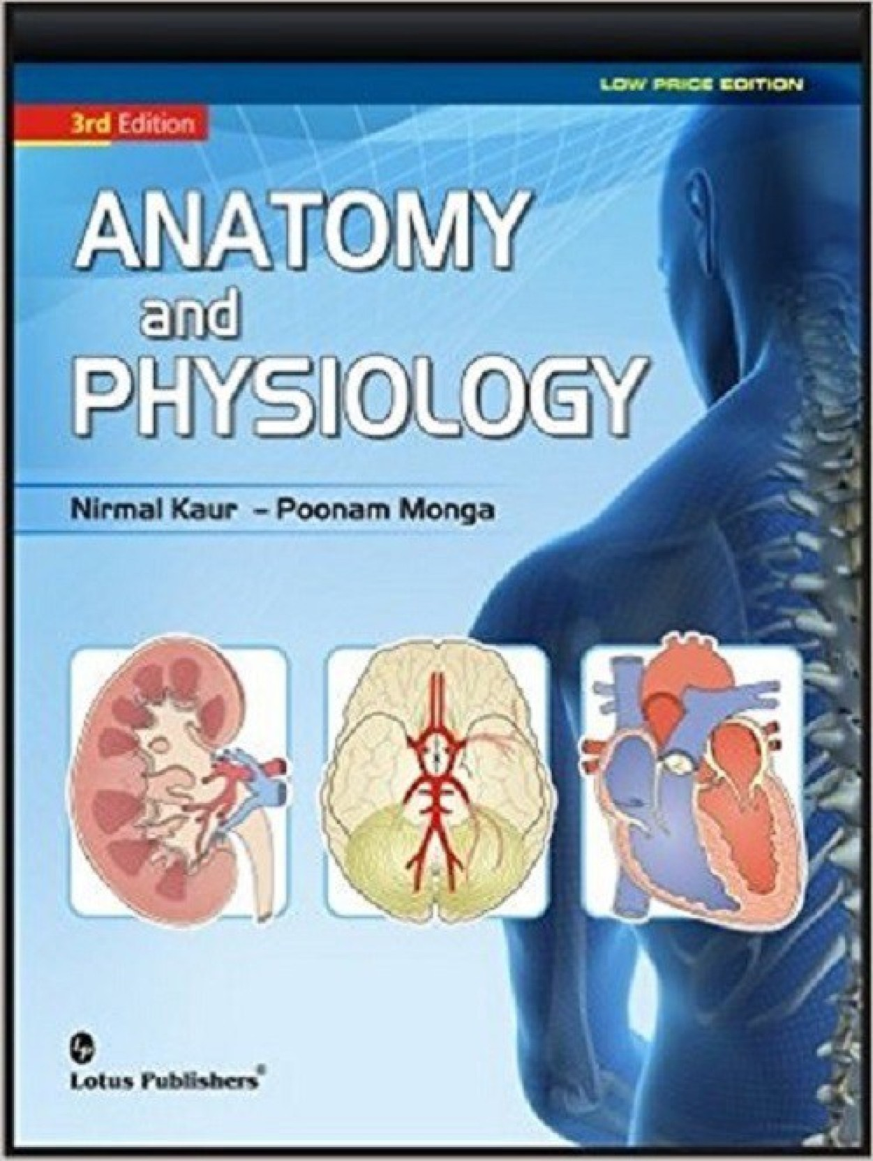 Anatomy & Physiology (B/W): Buy Anatomy & Physiology (B/W) by Nirmal ...