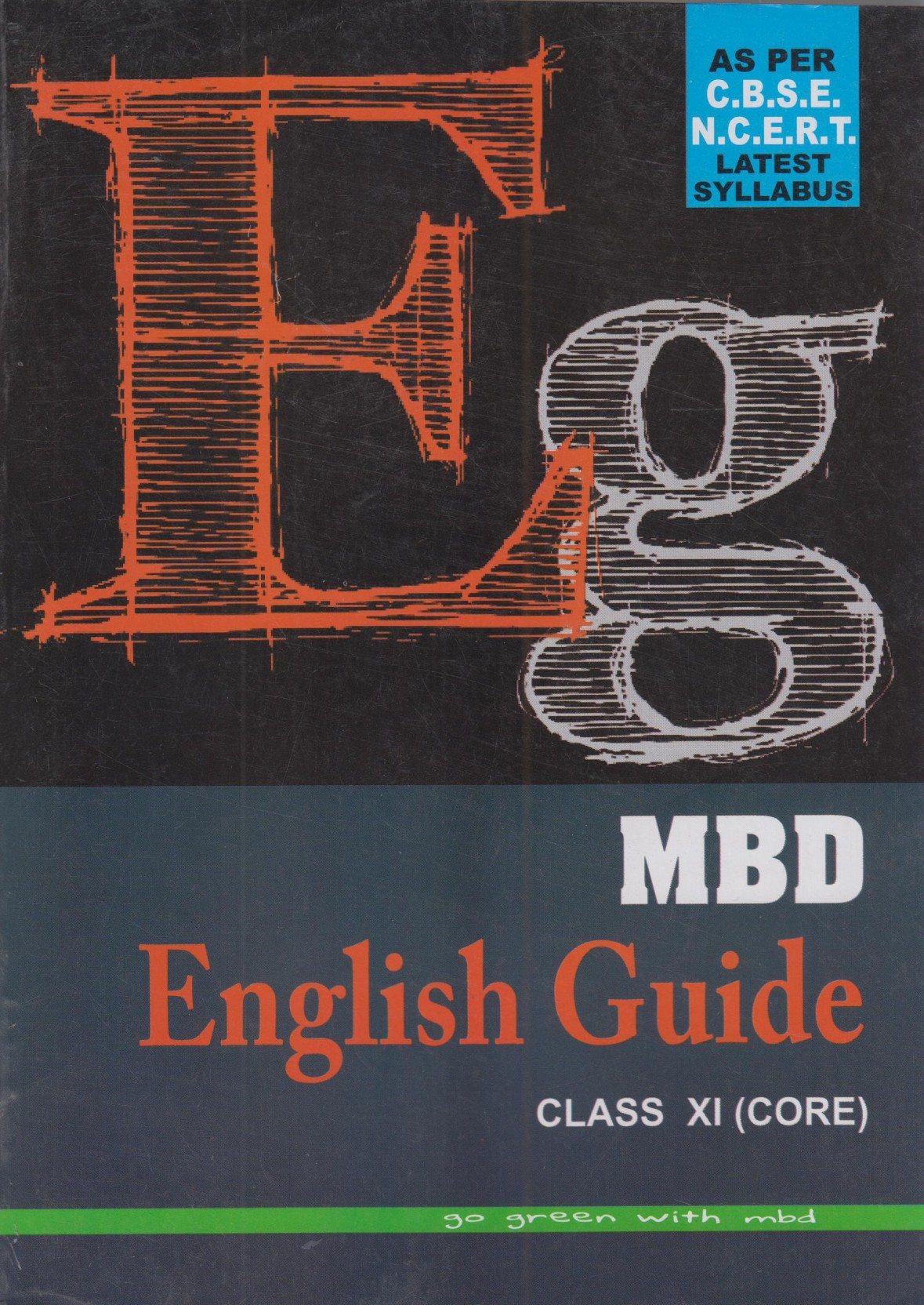 MBD English Guide Class- 11 ( Core ). Share