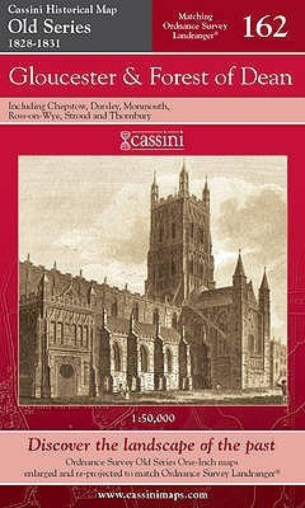 Gloucester and Forest of Dean (Cassini Old Series Historical