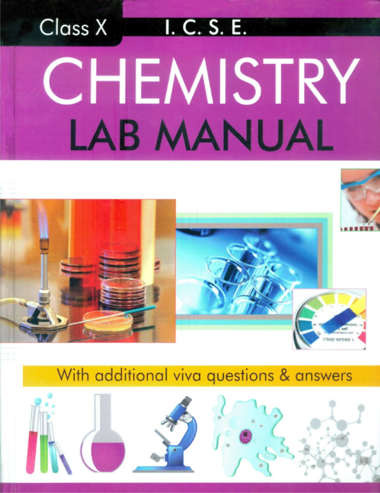 ICSE Chemistry Lab Manual Cl 10. ADD TO CART