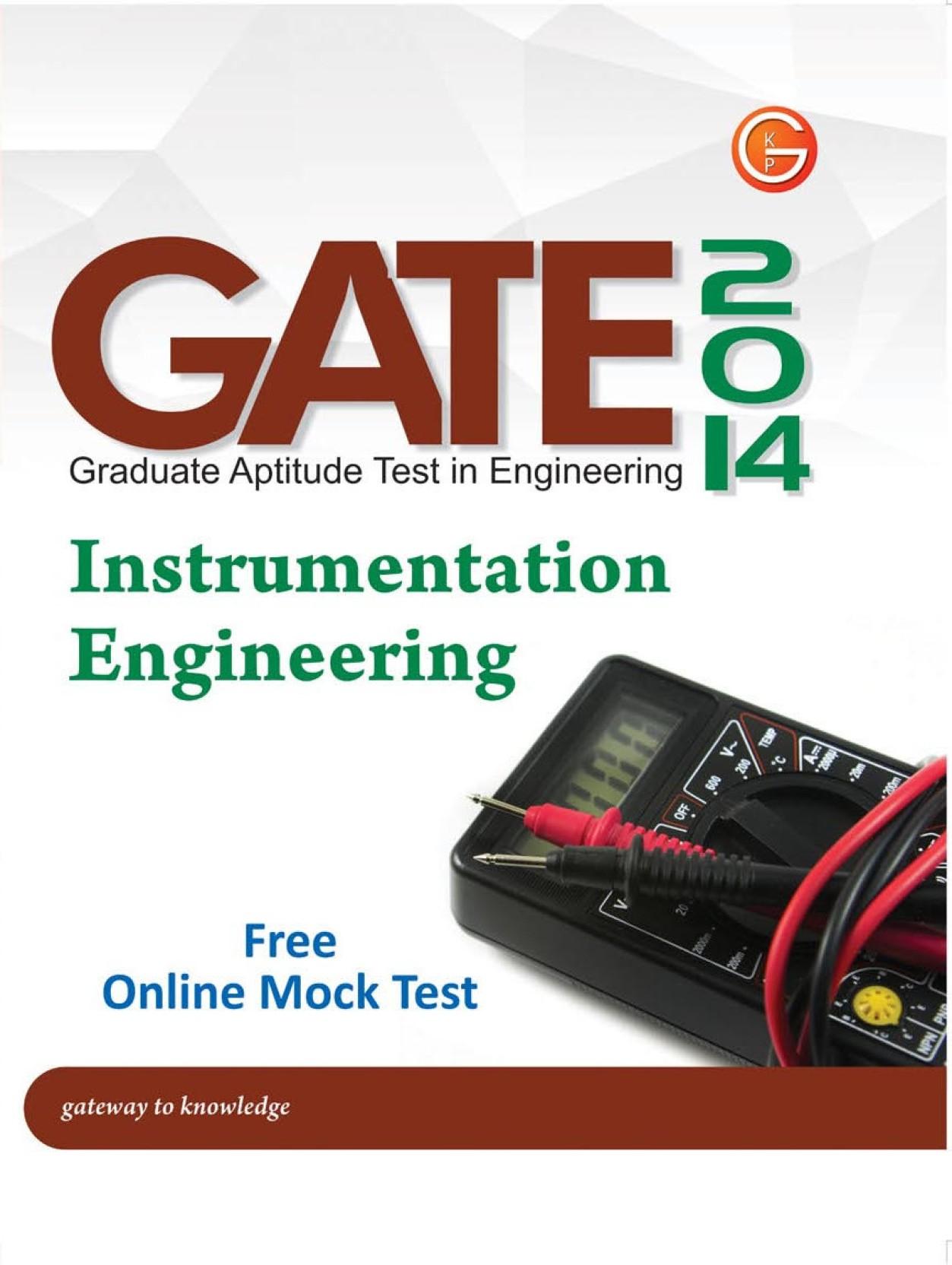 Gate instrumentation books free download