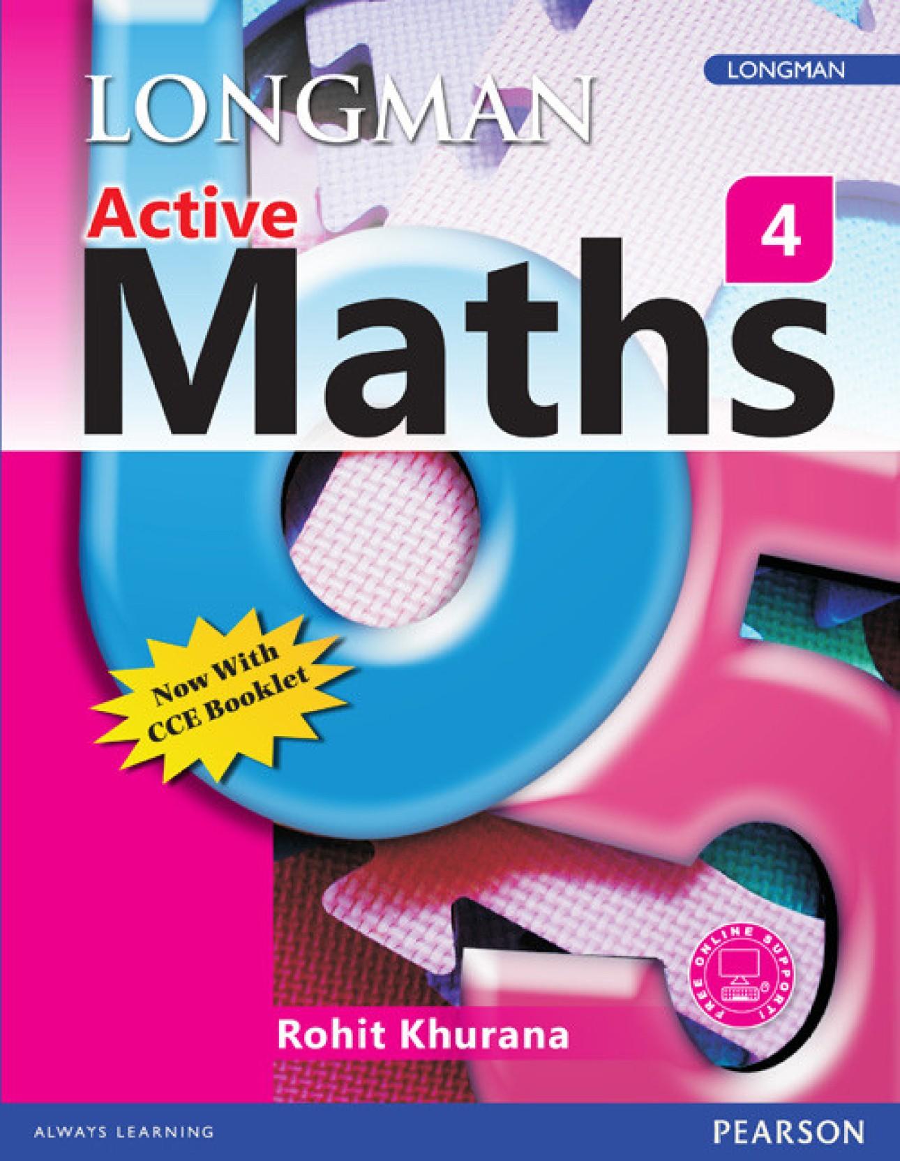Longman Active Maths 4: Buy Longman Active Maths 4 by Khurana at Low ...