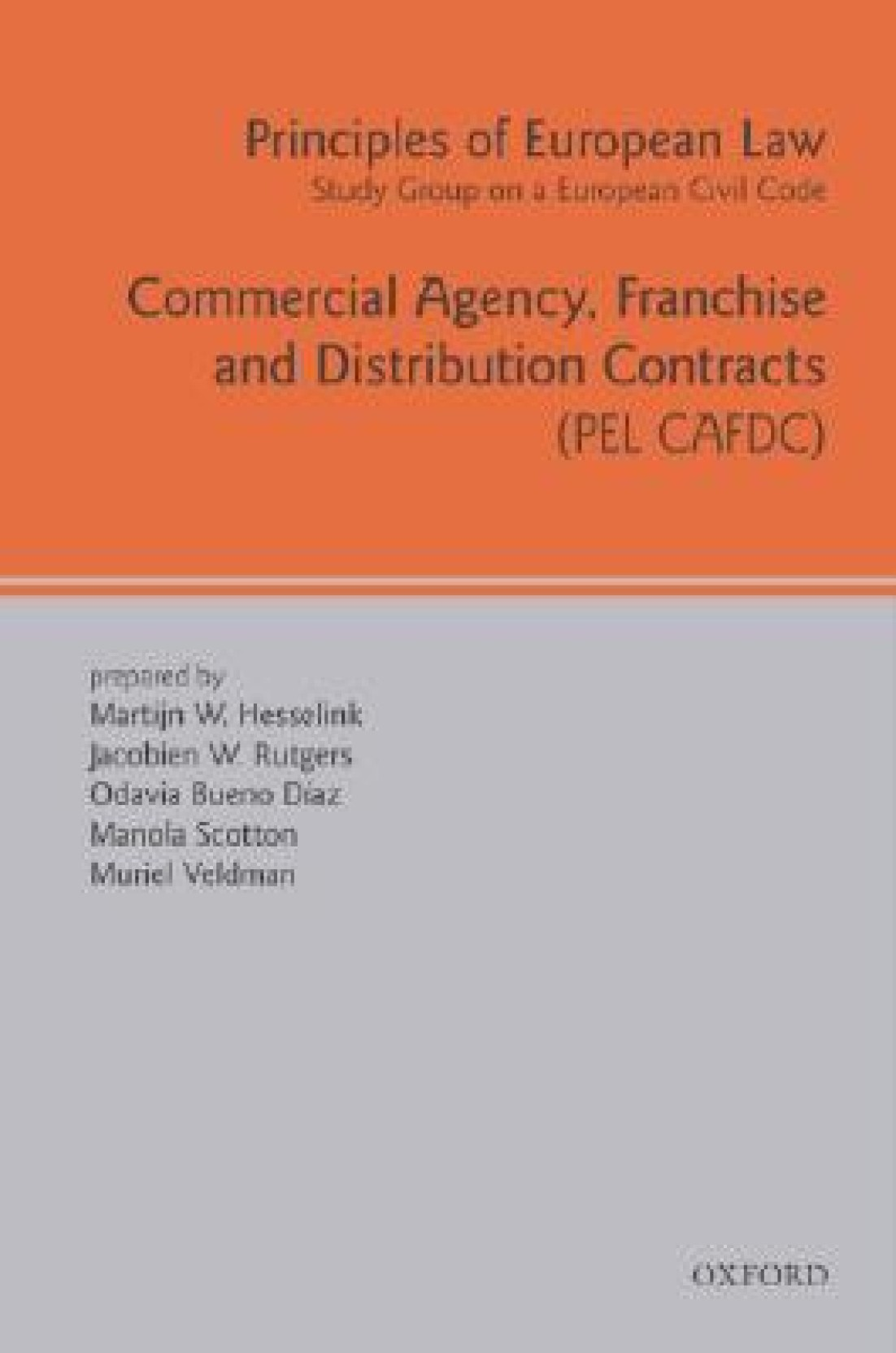 Commercial Agency Franchise And Distribution Contracts Pel Cafdc