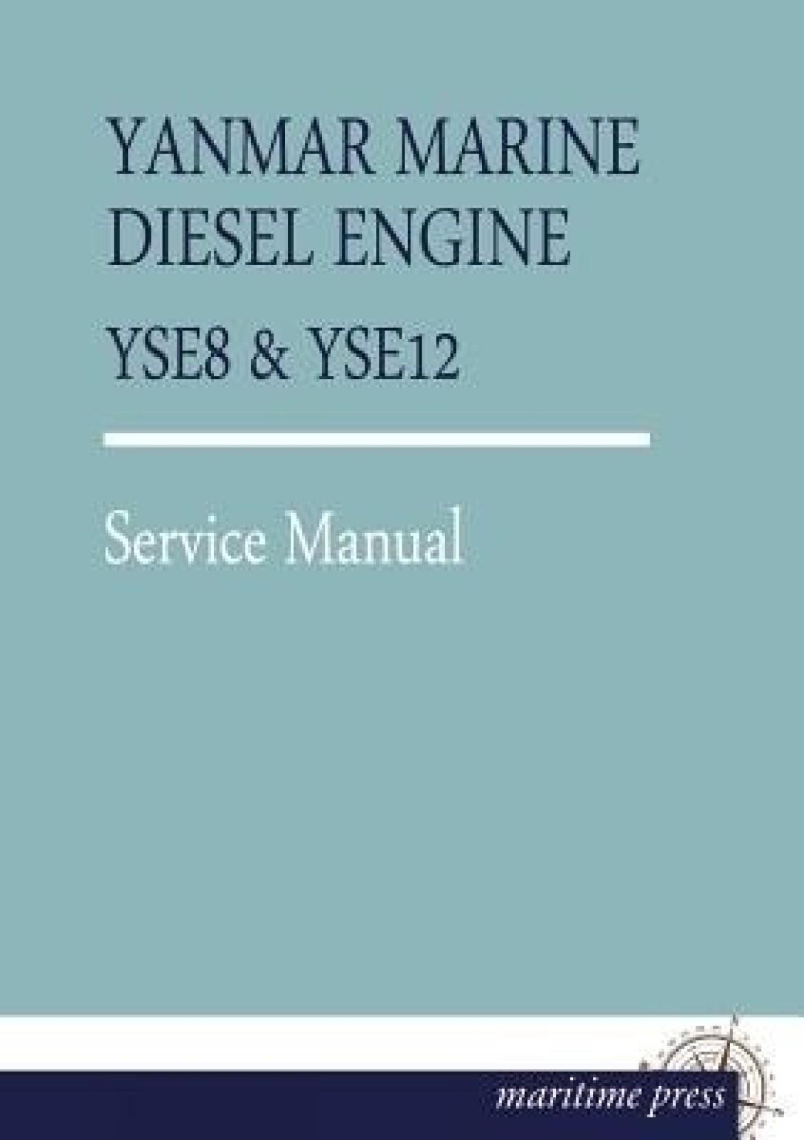 Yanmar Marine Diesel Engine Yse8. Share