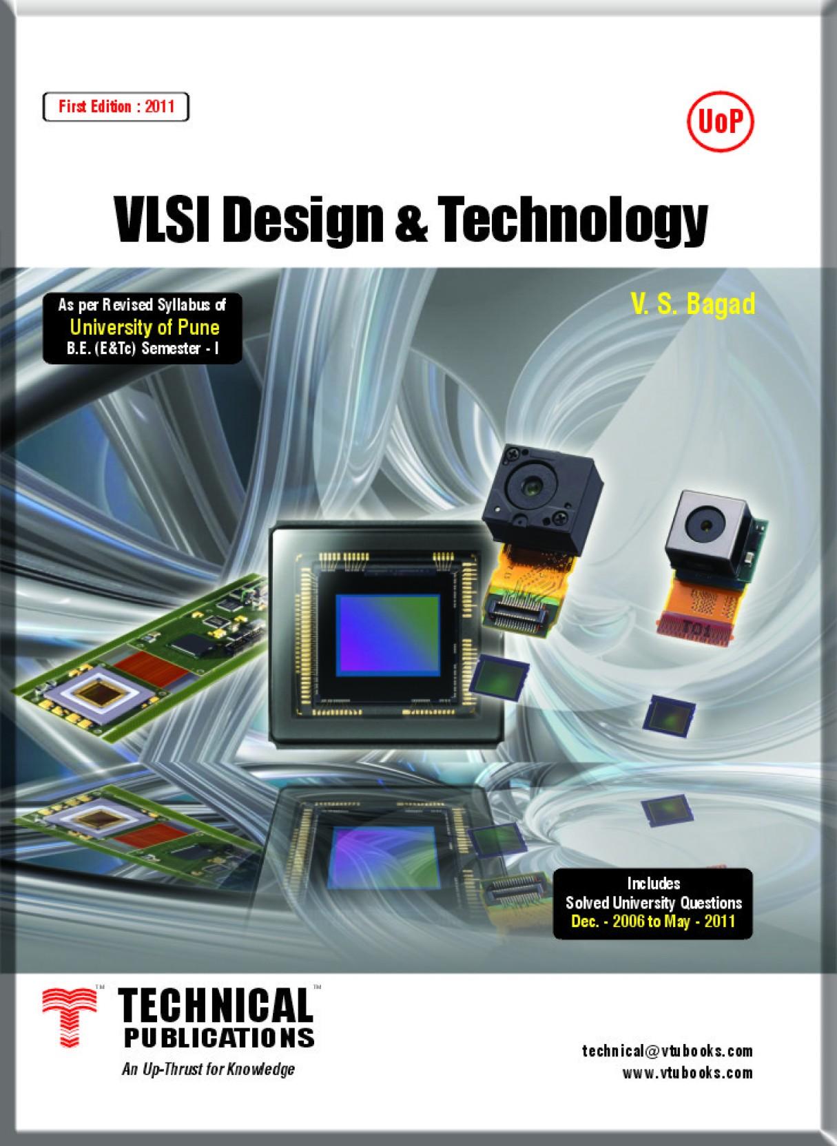 Vlsi Design Amp Technology For Pune University 1st Edition Buy Flow Share