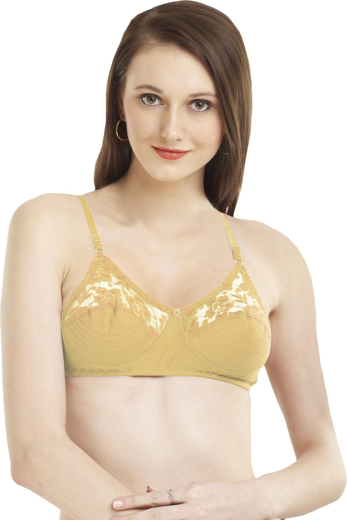 94cb0d56c2355 Madam Women s Full Coverage Non Padded Bra - Buy Skin Madam Women s ...