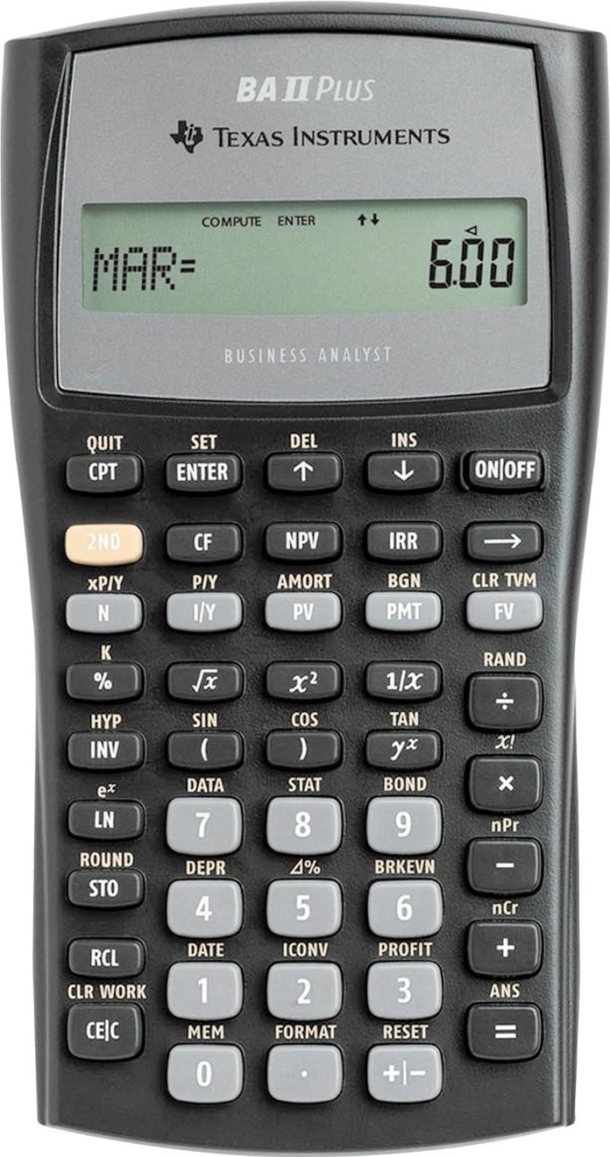 Flipkart.com | Texas Instruments BA II Plus Financial ...