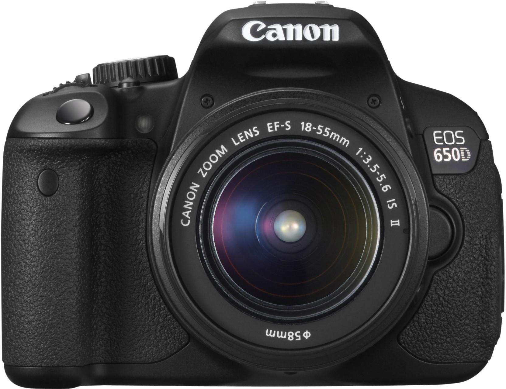 Canon EOS 650D DSLR Camera pare